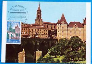 MONTAUBAN-FRANCE-CPA-Carte-Postale-Maximum-Yt-2083-C