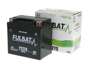 batterie fulbat gel high power ytz7s sla mf 12v 6ah f r. Black Bedroom Furniture Sets. Home Design Ideas