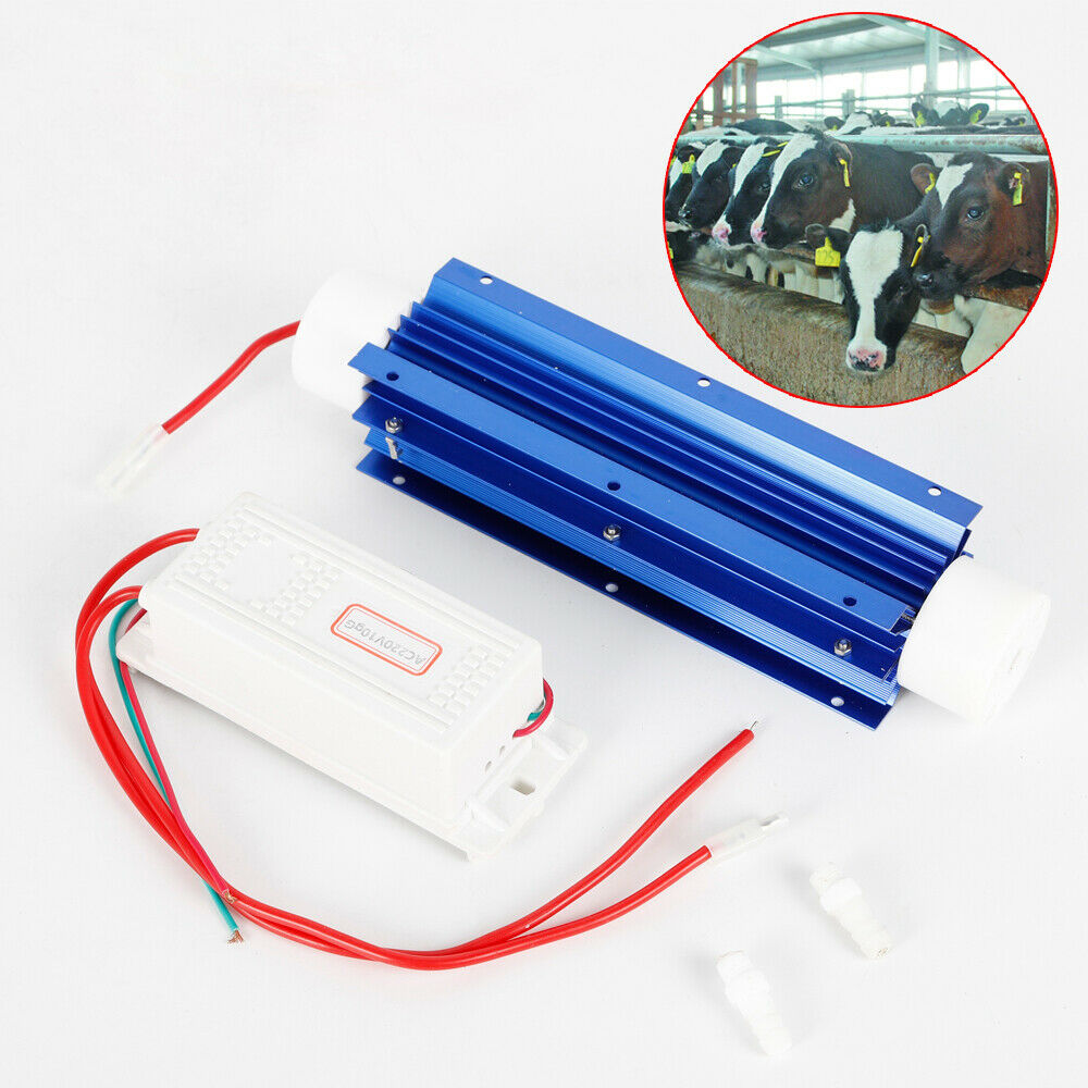 DC12V 10g//h Portbale Generator Ozone Tube For Water Purified Food Preservation