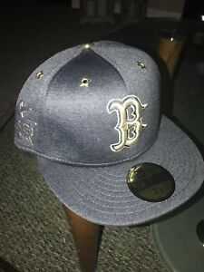 41e7f47c5e3b94 Boston Red Sox All Star Game New Era Fitted Hat Cap 7 3/8 | eBay