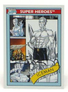 2013-Fleer-Marvel-Retro-Iceman-Autograph-Card-11-X-Men-Signed-Pablo-Raimondi
