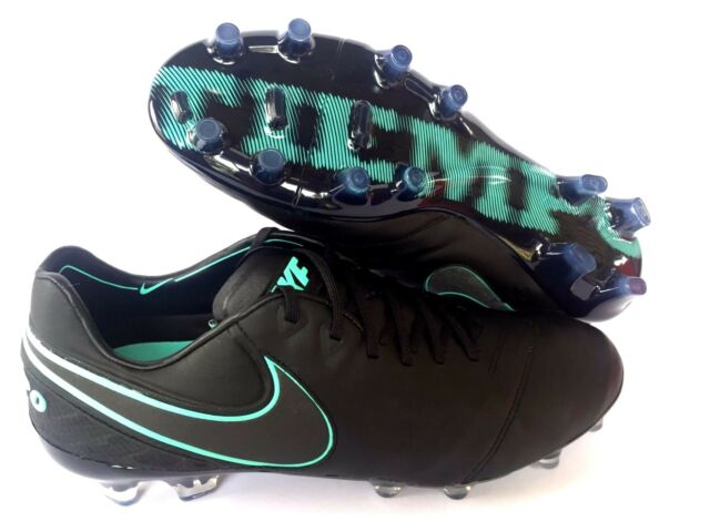 Nike Tiempo Legend VI FG Men s Soccer Cleat 819177 Black turquoise ... e62b3fc97