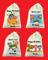 Set Of 6 Totally Custom Team Umizoomi Birthday Party Favor Bags