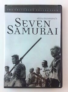 Akira-Kurosawa-039-s-Seven-Samurai-R1-DVD-Criterion-Collection-Unopened