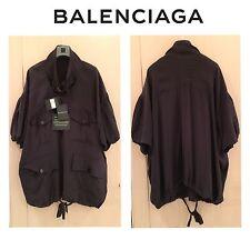 AUT New Balenciaga tunic shirt dress tunique tunika robe kleid
