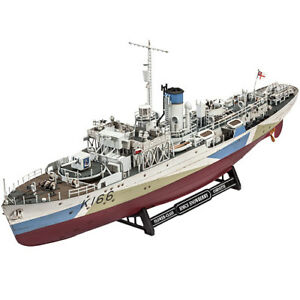 REVELL-05132-Flower-Class-Corvette-HMCS-Snowberry-1-144-Ship-Model-Kit