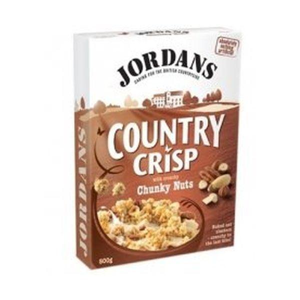 Jordans Country Crisp Chunky Nut 6 X 500g for sale online