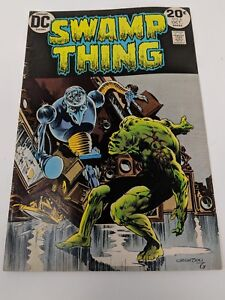 Bronze-Age-Comic-The-Swamp-Thing-6-nice-condition-DC-no-1-vol-2-no-6-1973