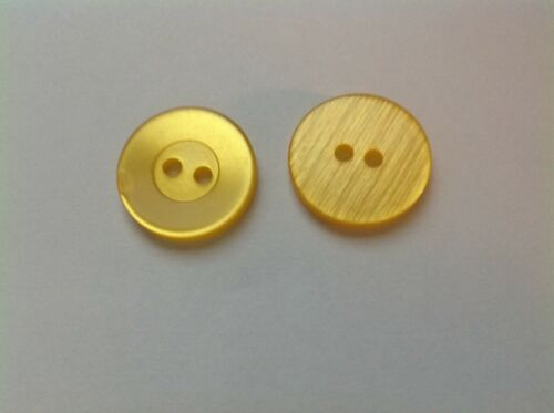 NEW 25 3//4 INCH 2 HOLE WIDE RIM BRITE YELLOW BUTTONS