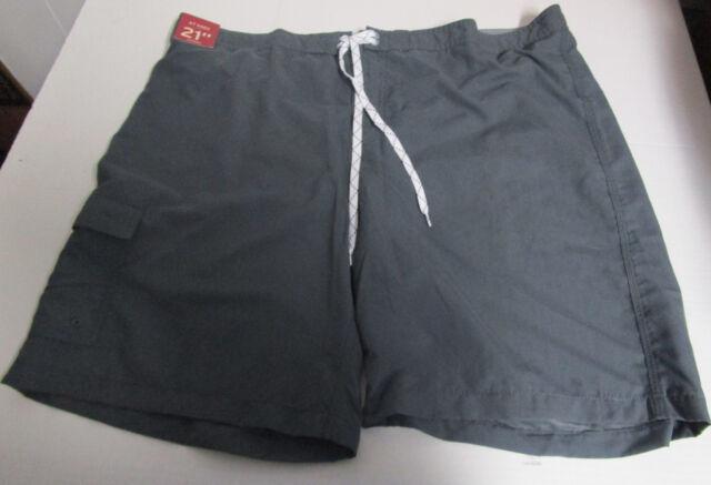Men's Clothing Merona Men Size Xxl Gray Swim Shorts Clothing, Shoes & Accessories