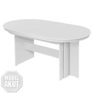 esstisch rom tisch weiss ausziehbar 160 310x90 ebay. Black Bedroom Furniture Sets. Home Design Ideas