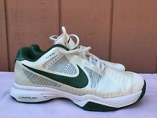MINT Nike Men Federer Lunar Vapor 8 Tour Tennis Shoe White Green US 7 429991 103