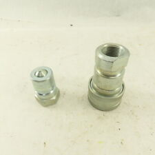 Parker Series 60 1 Fnpt Quick Disconnect Hydraulic Hose Fittings 1 Set Of 2