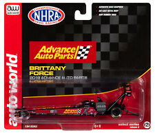 2019 1:64 AUTO WORLD NHRA *BRITTANY FORCE* ADVANCED Top Fuel Dragster *NIP*