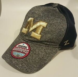 check out 2feb3 c8e3a ... buy image is loading womens michigan wolverines hat cap 034 the game  533ad 71f88