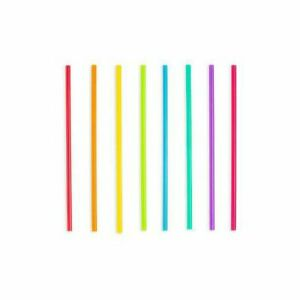 Pink Red Green Paper Straws ~ Drinking Straws ~ Cocktail Straws ~ Set of 24