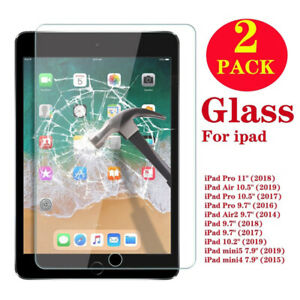 2-Pack-Tempered-Glass-Screen-Protector-For-iPad-2-3-4-Air-Pro-9-7-10-2-10-5-11-034