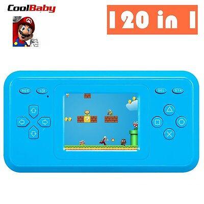 120 Games Retro Video Games Handheld Console 8 Bit Super Mario