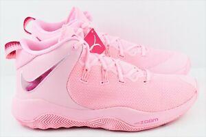 69e0db9c8b0c9 Nike Zoom Rev II TB Promo Mens Multi Size Basketball Shoes Pink Kay ...