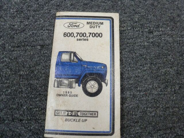 1979 Ford F700 Manual Guide