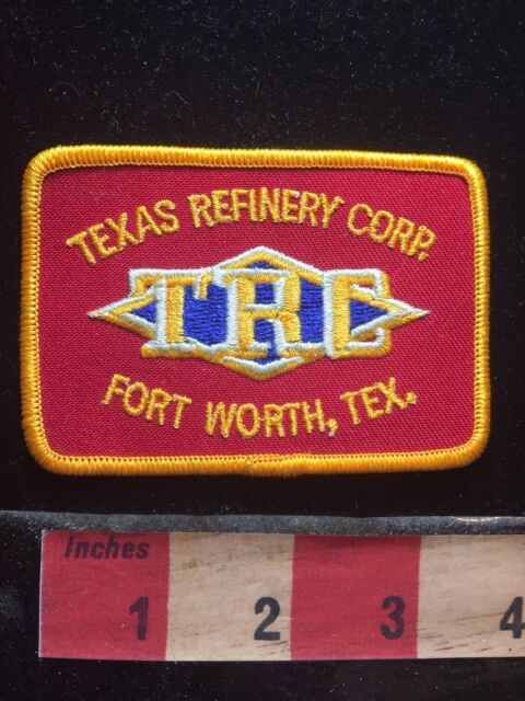 Texas Refinery Corp TRC Fort Worth Patch - Oil & Gas Industry 73K8
