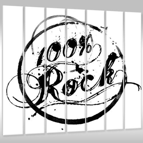 Leinwandbild Canvas Print Wandbild Kunstdruck Keilrahmenbild Rock Musik