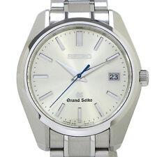 Grand Seiko SBGV005 Quartz Watch Stainless Box & Papers Brand New Store Buyout
