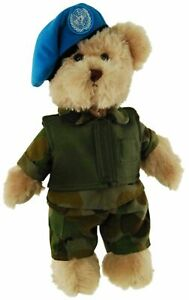TIC-TOC-TEDDY-PEACEKEEPER-ARMY-BEAR-JOINTED-BEAR-IN-PEACEKEEPERS-UNIFORM