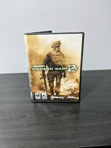 Call-of-Duty-Modern-Warfare-2-PC-2009-COMPLETE-Disks-Case-amp-Manual-FREE-SHIP