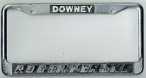 Super Rare Downey California Roger Penske Racing Vintage