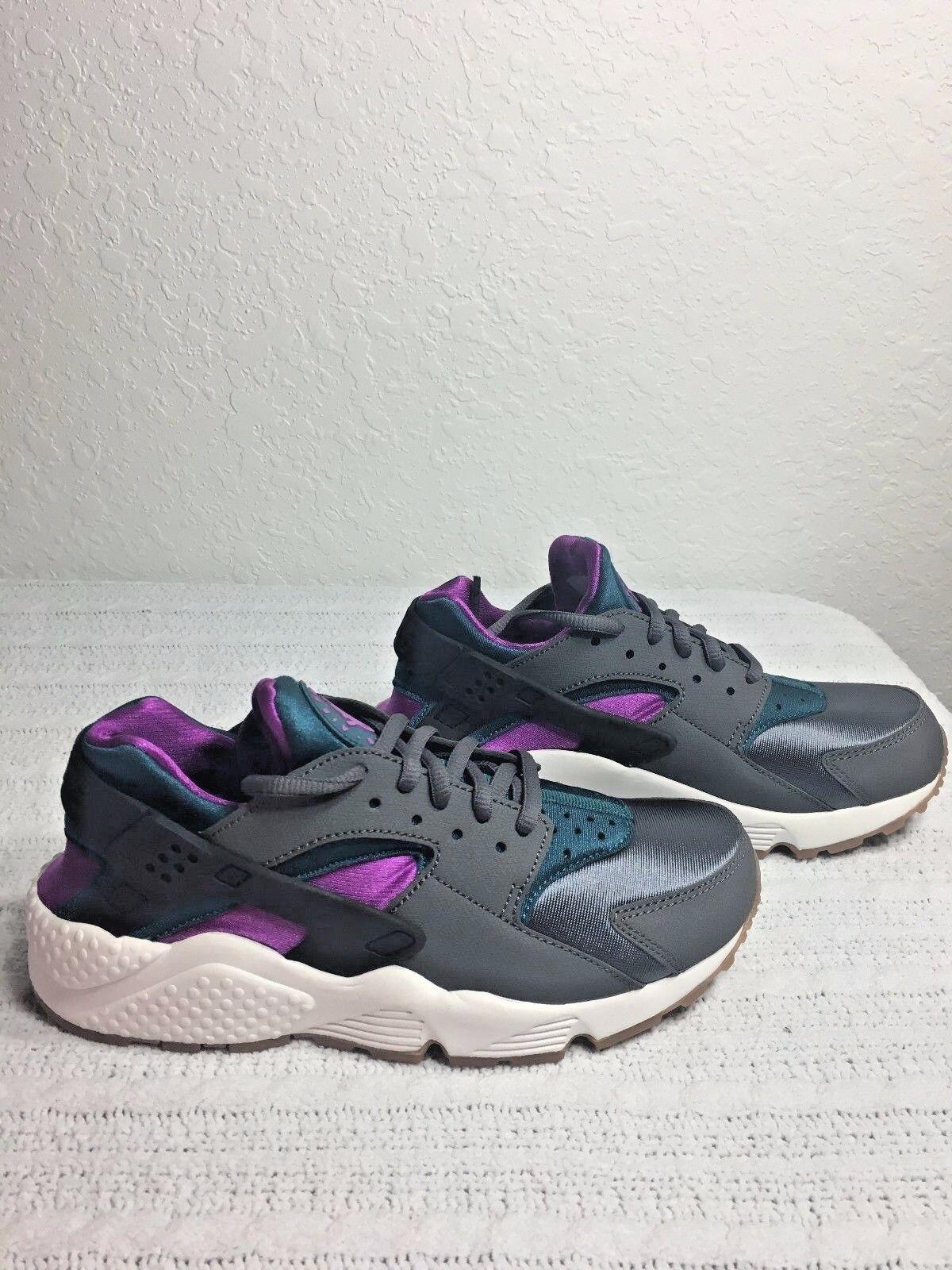 Nike air huarache lauf grau / blaugrün blaugrün blaugrün frauen größe 6,5, neue 634835 016 074d7c