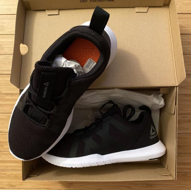Reebok Mens Reago Pulse Training Shoes Size 9.5 Black/white New NIB DV6161