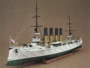 Russian Cruiser Varyag Ship DIY Paper Model Kit 1:200 Scale T