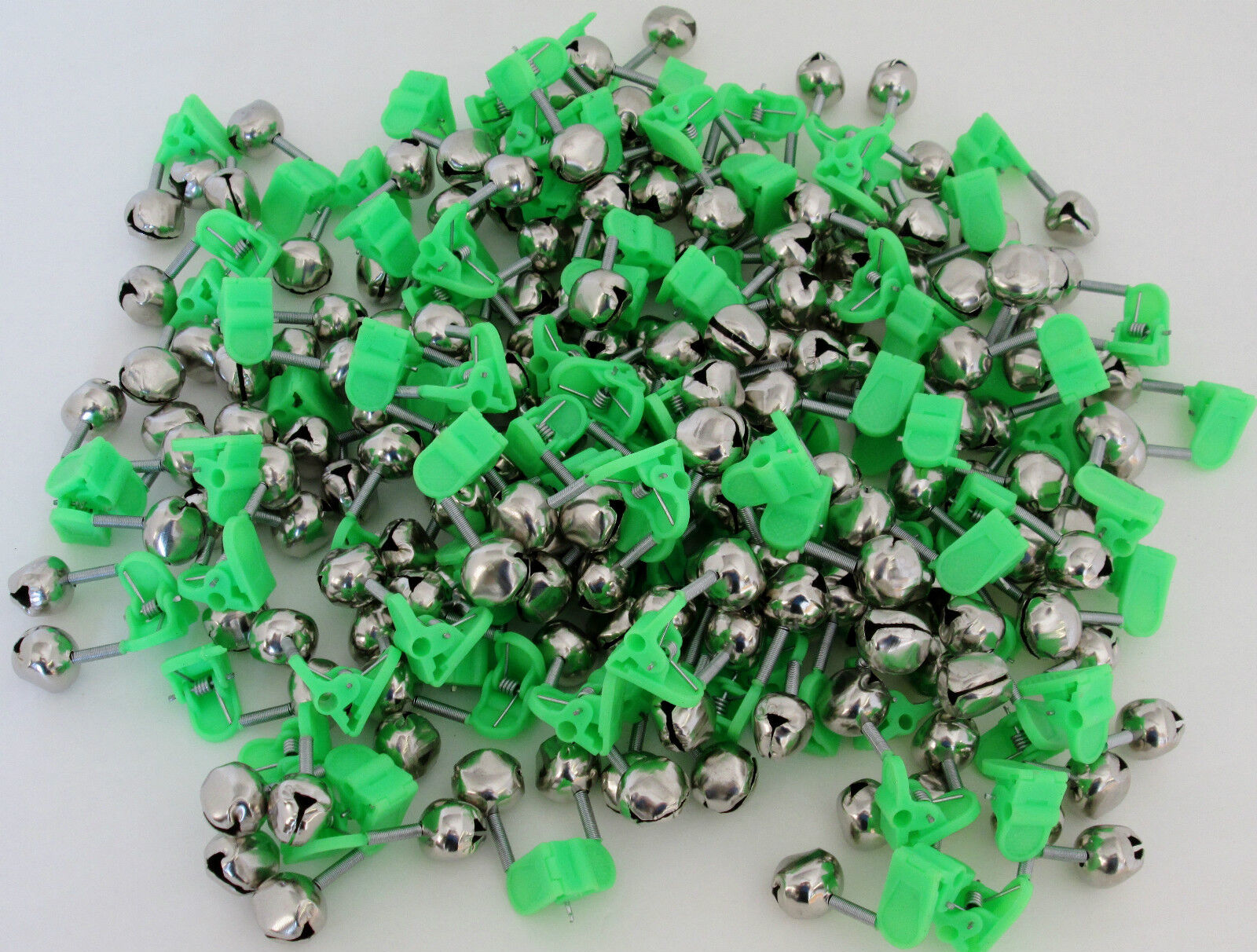 100pcs  Twin  Bells Fishing  Bite Alarm For All Fishing Man  cheap and high quality