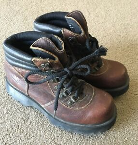 Dr-Marten-039-s-DM-s-Leather-Boot-Sz-6-Made-In-England-Brown-Hiking-2000s-Waterproof
