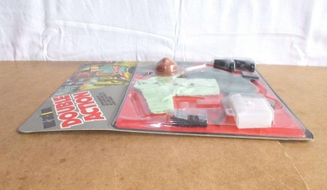 Vintage LJN TOYS - MR MR MR ACTION action set DOUBLE ACTION - GARDE FORESTIER mosc 70s 995709