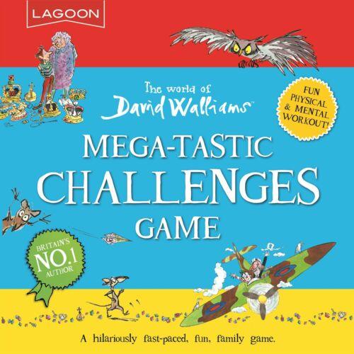 The World of David Walliams-Mega-tastique Challenges Game-Lagoon groupe