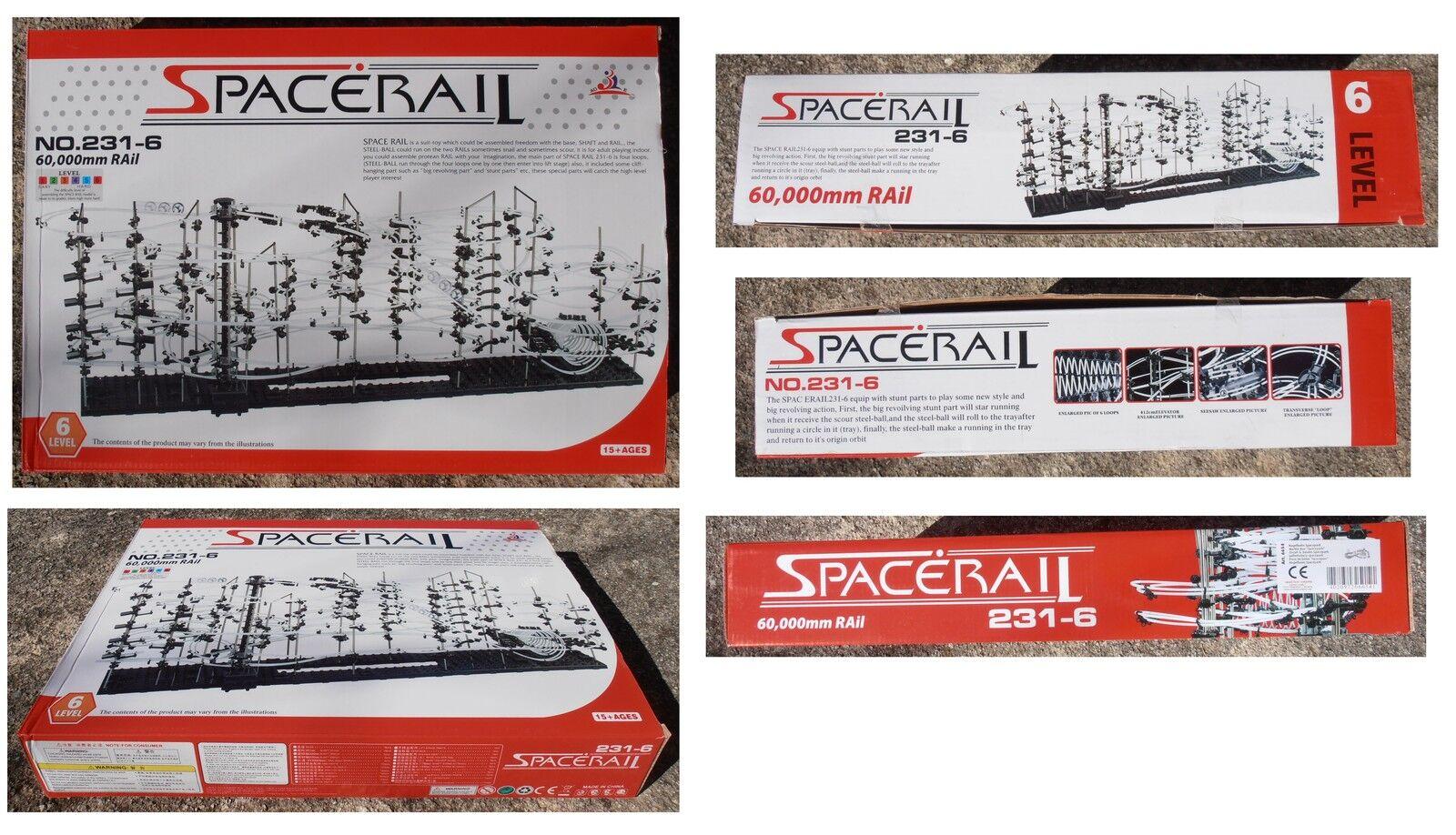 Pista per biglie Spacerail 231-6 Livello Level 6 Legler 6654 Parco spaziale