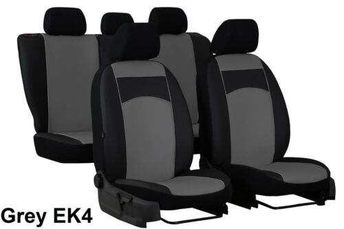 VOLKSWAGEN POLO BLUEMOTION Mk5 2009-2017 ARTIFICIAL LEATHER TAILORED SEAT COVERS