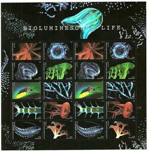 Bioluminescence-Sheet-of-20-Forever-Stamps-Scott-5273a
