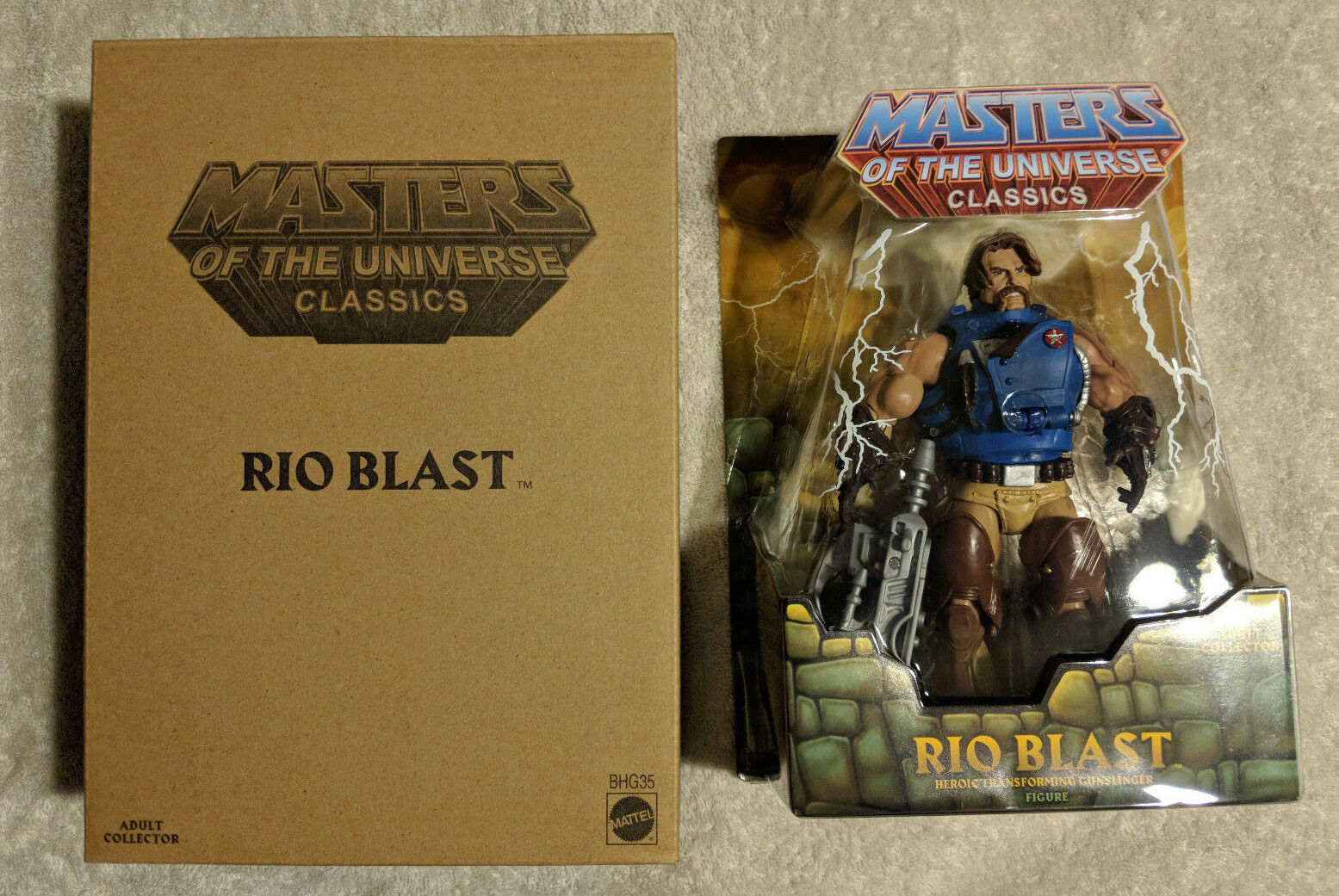MOTUC Masters of of of the Universe classeics RIO BLAST MOC Sealed w mailer nuovo 3f0af4