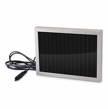 Stealth Cam 12V Weatherproof Battery Charger Solar Panel Game Camera Accessory