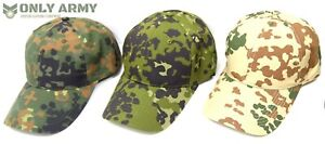 German-Danish-amp-Swedish-Army-Camouflage-Baseball-Caps-RIPSTOP-Camo-Cap-Tactical