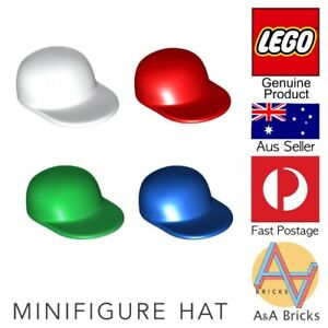 Genuine-LEGO-Minifigure-Hat-Cap-Pack-4-Caps-for-your-Minifigures