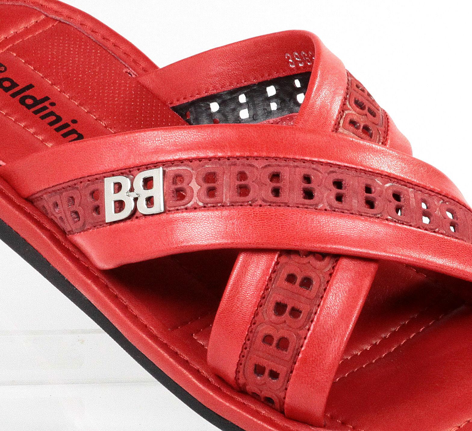 Baldinini Leather Italian Sandals New Collection rosso rosso rosso 84e5f3