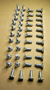 44pc Windshield// Doors// Tailgate// Roll Bar Torx Bolt For Jeep Wrangler 1976-2006