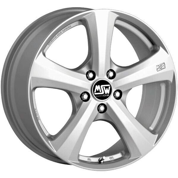 JANTES ROUES MSW 19 W 7X16 5X120 ET35 BMW SERIES 1 FULL SILVER 0DD