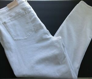 NYDJ-Not-Your-Daughters-Jeans-Alina-Skinny-White-Denim-Jeans-Size-16