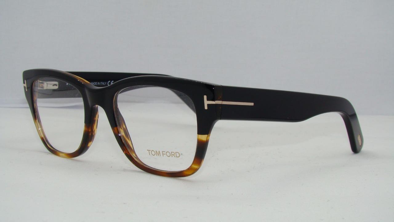 0e78dd9dcc Tom Ford Eyeglass Frames 5379 005 Black/havana Size 51mm Men Women ...