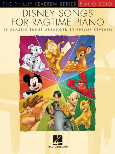 Disney Songs for Ragtime Piano Sheet Music The Phillip Keveren Series 000241379